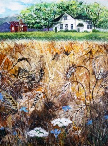 Wheat FieldMixed Media