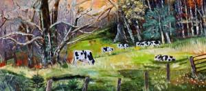 Landscape, 13x28, Oil